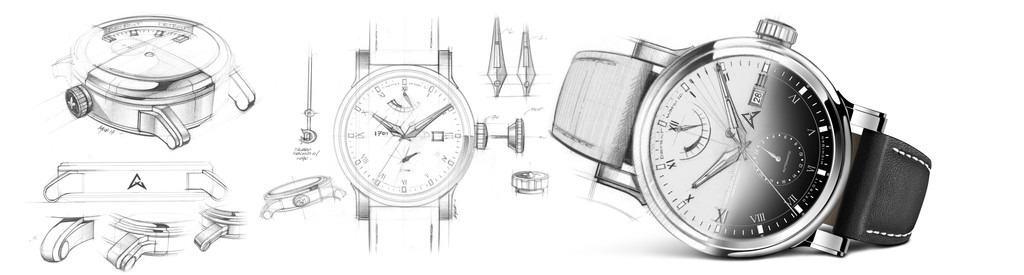 Axia Watch Sketch